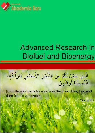 Journal of Advanced Research in Biofuel and Bioenergy